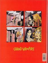 Verso de Grand vampire -5- La Communauté des magiciens