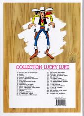 Verso de Lucky Luke -4f2016- Sous le ciel de l'Ouest