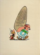 Verso de Astérix -15b75- La zizanie