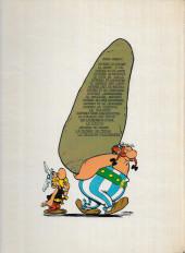 Verso de Astérix -10b1975- Astérix légionnaire