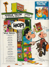 Verso de Achille Talon -5a1976- L'indispensable Achille Talon