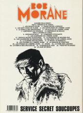 Verso de Bob Morane 3 (Lombard) -31a1992- Service secret soucoupes