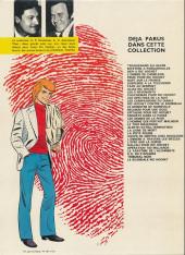 Verso de Ric Hochet -2c1981- Mystère à Porquerolles