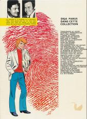 Verso de Ric Hochet -3c1980- Défi à Ric Hochet