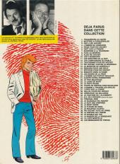 Verso de Ric Hochet -40a1987- Le double qui tue