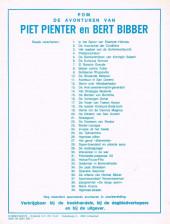 Verso de Piet Pienter en Bert Bibber -6a85- De Kumulus formule