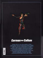Verso de Carmen Mc Callum - Code Mc Callum -Int- Carmen Mc Callum - Intégrale 0