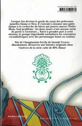 Verso de Princess of Mana -1- Tome 1