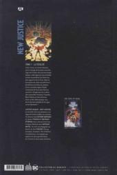 Verso de Justice League : New Justice -1- La Totalité