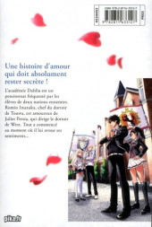 Verso de Romio VS Juliet -1- Tome 1
