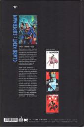Verso de Clark Kent : Superman -0- Homme d'acier