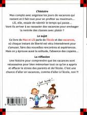 Verso de Ainsi va la vie (Bloch) -118- Max et Lili veulent rester en vacances