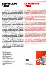 Verso de (AUT) Tardi -Cat- Le monde de Tardi