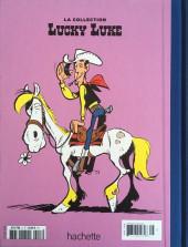 Verso de Lucky Luke - La collection (Hachette 2018) -358- Jesse james
