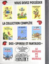 Verso de Spirou et Fantasio -8TL3_V3- La mauvaise tête