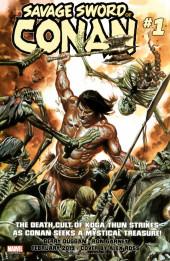 Verso de True Believers: Conan (2019) - True Believers: Conan - Curse of the golden skull !