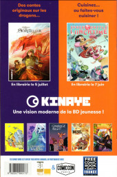 Verso de Free Comic Book Day 2019 (France) - Misfit City