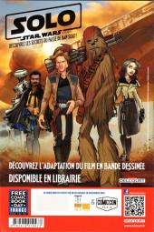 Verso de Free Comic Book Day 2019 (France) - Star Wars Adventures