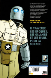 Verso de Free Comic Book Day 2019 (France) - Atomic Robo