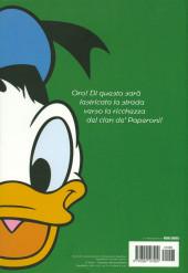 Verso de Classici del Fumetto di Repubblica (I) - Serie Oro -3- Zio Paperone & Co.