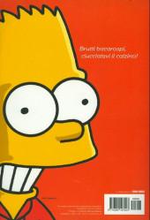 Verso de Classici del Fumetto di Repubblica (I) - Serie Oro -49- The Simpsons - Benvenuti a Springfield