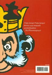 Verso de Classici del Fumetto di Repubblica (I) - Serie Oro -51- Maxmagnus - C'era una volta un re