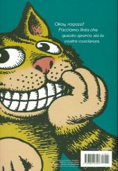Verso de Classici del Fumetto di Repubblica (I) - Serie Oro -57- R. Crumb - Fritz il gatto, Mr. Natural ed altre storie