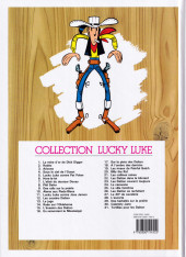 Verso de Lucky Luke -15d2016- L'évasion des Dalton