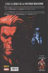 Verso de La mort de Wolverine - La mort de Wolverine : Prélude