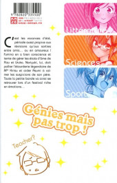 Verso de We never learn -5- Tome 5