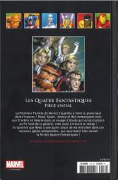 Verso de Marvel Comics - La collection (Hachette) -13486- Les Quatre Fantastiques - Piège Spatial
