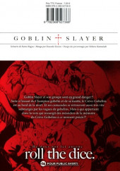 Verso de Goblin Slayer -5- Tome 5
