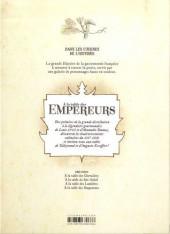 Verso de Dans les cuisines de l'Histoire -4- À la table des empereurs