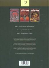 Verso de Les guerriers -INT1- Les Guerriers - Intégrale 1