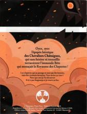 Verso de Aubépine -MR4230- La saga des chevaliers châtaignes