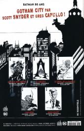 Verso de Batman Rebirth (DC Presse) -24- Tome 24