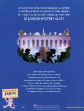 Verso de London Mystery Club -2- Une momie dans le métro