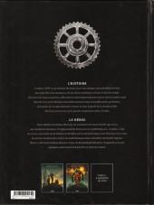 Verso de M.O.R.I.A.R.T.Y -2- Empire mécanique 2/2