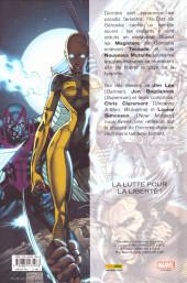 Verso de X-Men : X-tinction programmée