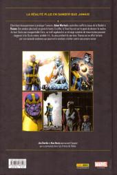 Verso de Thanos : La Trilogie de l'infini (2018) -2- Thanos : Le conflit de l'infini