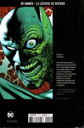 Verso de DC Comics - La légende de Batman -4474- La Brûlure