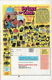 Verso de The amazing Spider-Man Vol.1 (Marvel comics - 1963) -218- In Manhattan Stalks a Monster!