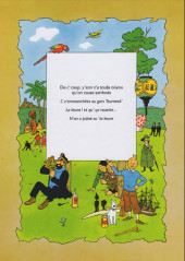 Verso de Tintin (en langues régionales) -16Sarthois- La leune !... et qu'ça rouette !