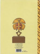 Verso de Jimmy Tousseul -1a1993- Le serpent d'ébène