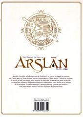 Verso de Arslân (The Heroic Legend of) -10- The Heroic Legend of Arslân - 10
