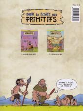 Verso de Sur la piste des primitifs -2- Prehistorica Land
