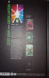 Verso de Green Lantern (Geoff Johns présente) -INT05- Intégrale - Tome 5
