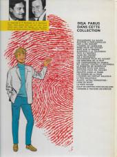 Verso de Ric Hochet -25a1978- Coups de griffes chez Bouglione