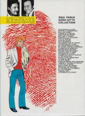 Verso de Ric Hochet -27b1981- L'épée sur la gorge