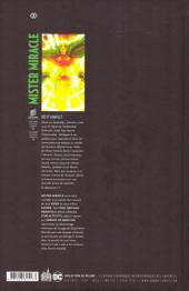 Verso de Mister Miracle